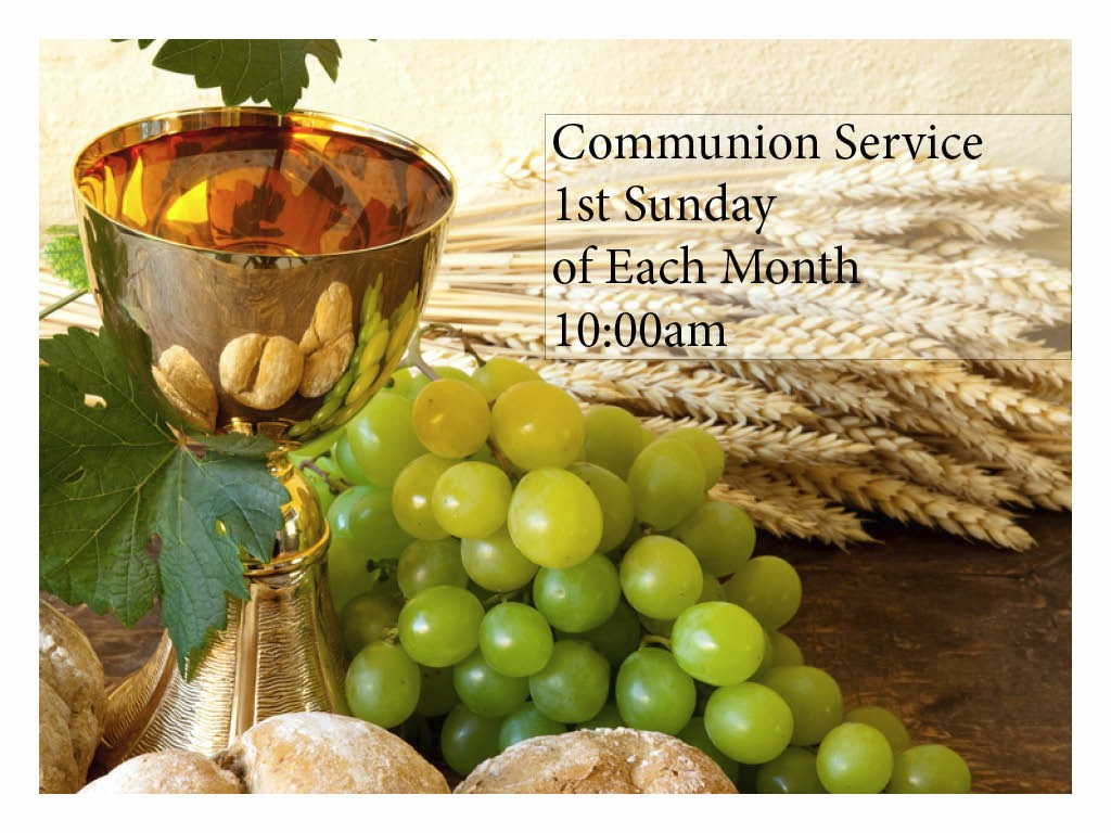 FUMCOR Sliders Communion Service